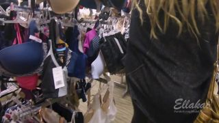 Risky Public Flashing In Mall, Change Room Sex, Quick Cum - Amateur Ellakai