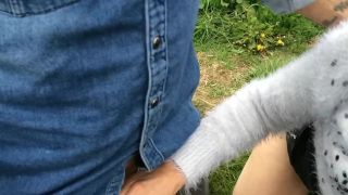 Sexy Essex Wife Jerking Off A Stranger In Public Outdoor Daytime Dogging