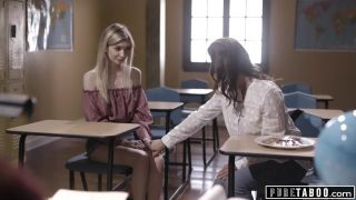 Pure Taboo Lesbian Teacher Makes Stepmom Spank Her Bratty Daughter