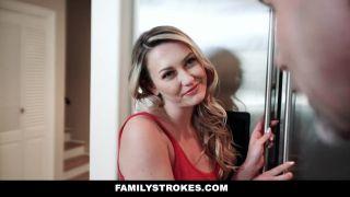 Familystrokes - Horny Stepdaughter Bounces On Stepdad