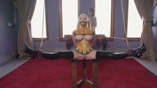 Lesbian Maid Abuse Of Tied Slave