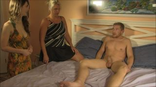 Step Mom Teaches Son & Step Daughter About Sex - Carey Riley & Molly Jane