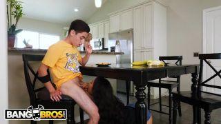 Bangbros - Slutty Step Sister Maya Bijou Fucks Stepbro Juan El Caballo Loco