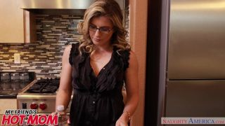 Horny Milf Cory Chase Sits On Her Son