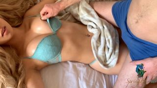 Real Doll - I Want Your Sperm - Tit Torture Made Her Cum - Springblooms