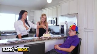 Bangbros - Juan El Caballo Loco Gets Hot Milf Reagan Foxx For His Birthday