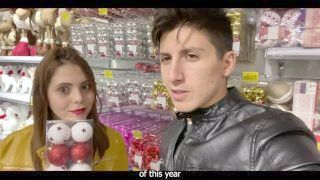 Hot Couple Has Hot Coition For Christmas - Unprofessional Couple 4k