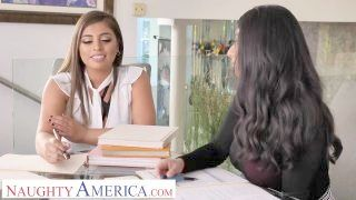 Dirty America - Ella Knox And Violet Myers Coition Their Boss