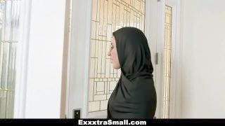 Exxxtrasmall - Delicate Legal Age Teenager Copulated In Hijab