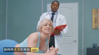 Brazzers - White Haired Mellow Dee Williams Gets Anal Checked By Bbc