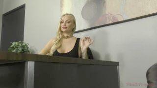 Hot European Goddess Kayla Green Makes Her Slave Lick Her Feet & Ass