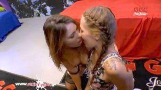 Ani Black Fox And Bibi Play Like Good Jizz Prostitutes - German Goo Beautys