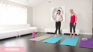 Complete Scene - First Time Yoga Student Seduced By Teacher