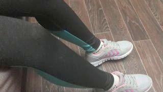 Femdome Slave In Handcuff Worship Sport Socks Paramour