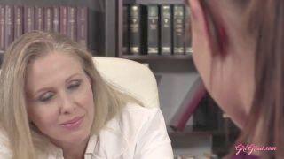 Doctor Julia Ann Seduces Nurse Aida Fox