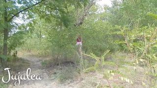 French Chick Creampied By Public River In Ukraine Outdoor Couple Jujulea