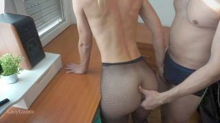 Hot Petite Fit Teen Pounded Rough On The Office Desk