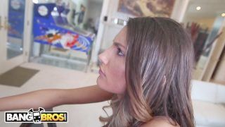 Bangbros - August Ames Different Ethnics Copulate On Monsters Of Shaft