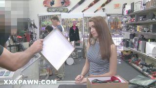 Pornography Pawn - Desperate Female Naomi Alice Gets Fucked In A Pawn Shop For Quick