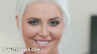 Reality Kings - Cubby Light Haired Kristina Shannon Pounds In A Workout