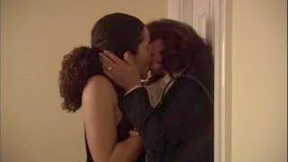 Jennifer Beals & Ion Overman - Rough Lesbian Kissing - No Music