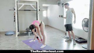 Teamskeet - Shagging A Fit Fresh Girl In The Gym