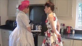 Domme With Her Sissy Housewife