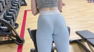 Hot Blonde Seduces Me After The Gym And Helps Me Cum Inside