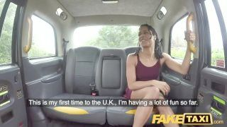Fake Taxi Fast Fucking And Internal Ejaculation For Peachy Ass Ebony Beauty Kira Noir