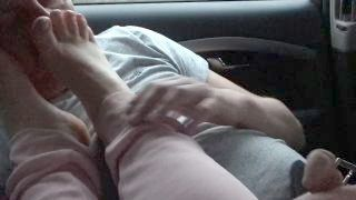 Uncle Sniffing My Stinky Feet And Gets Footjob