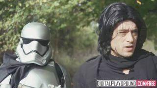 Star Wars The Last Temptation A Double Penetration Xxx Parody Scene 2 Adriana Chechik &