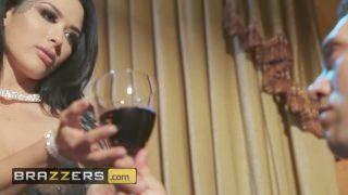 Brazzers - Inked Goth Katrina Jade Gets Double Stuffed